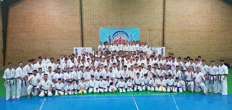 سمینارفنی کیوکوشین KWF با حضور مدرسین بین المللی