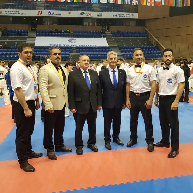 مسابقات جهانی جوانان اتحادیه کیوکوشین 2018 بلغارستان KWU