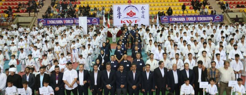 مسابقات قهرمانی کیوکوشین KWF کشور(آقایان)1397